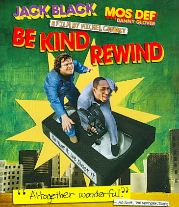 BE KIND REWIND BY BLACK,JACK (Blu-Ray)